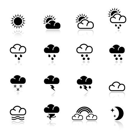 zon maan: Basic - weer
