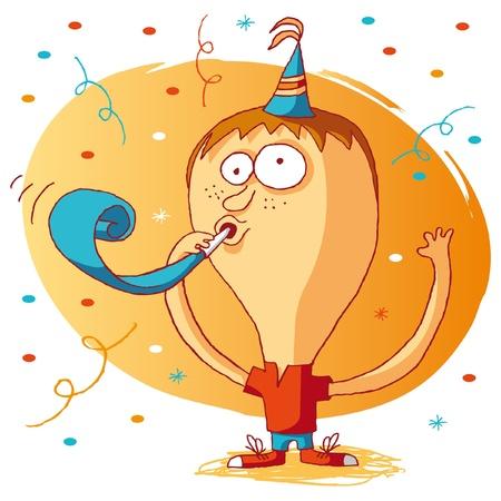 cotillons: Joyeux anniversaire - cotillons