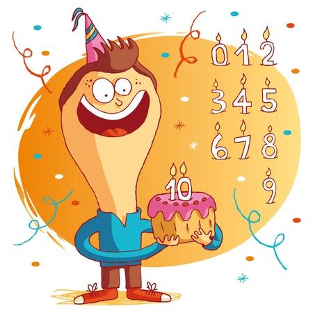 pastel feliz cumplea�os: Feliz cumplea�os - pastel