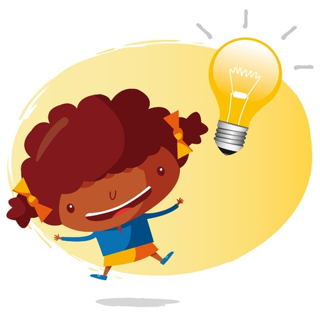 jump for joy: big idea Illustration