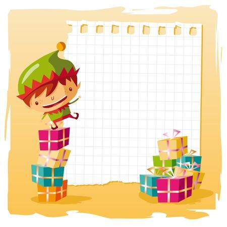 wish list: Christmas - Elf and his wish list