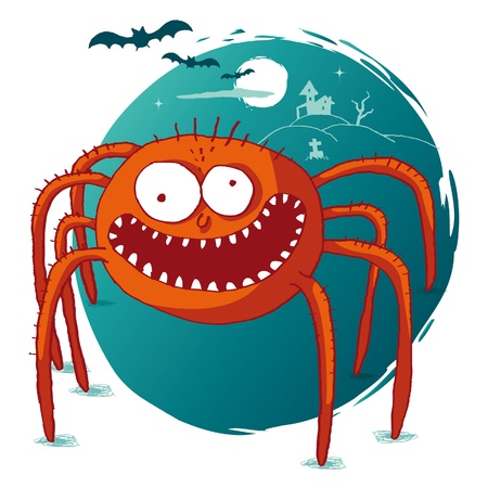 spider: Halloween - Spider Illustration
