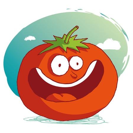 funny tomatoes: funny tomato