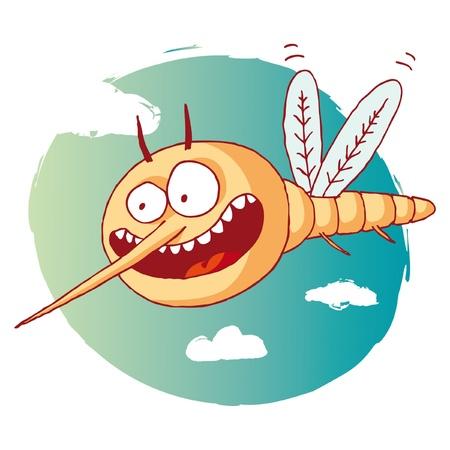 dengue: zanzara divertente