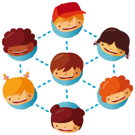 family discussion: human network
