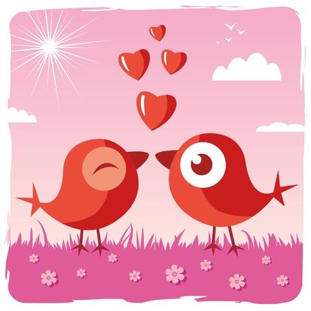 sweety: happy Valentine Illustration