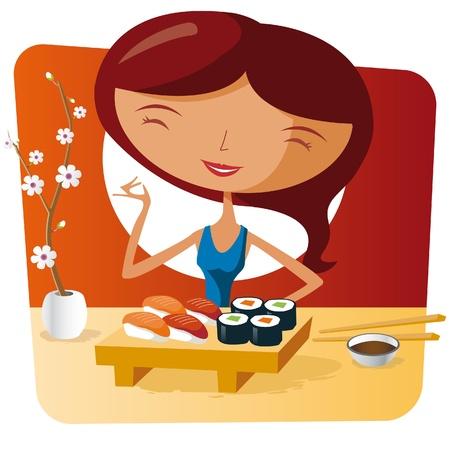 fine cuisine: Sushi tempo