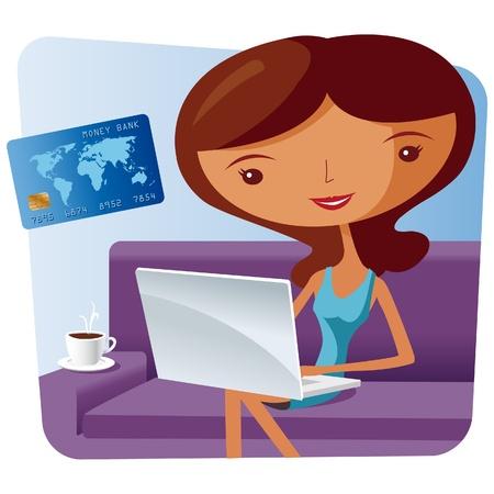 online shopping Stock Vector - 10519082