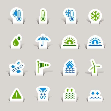 uv: Paper Cut - Iconos del Tiempo