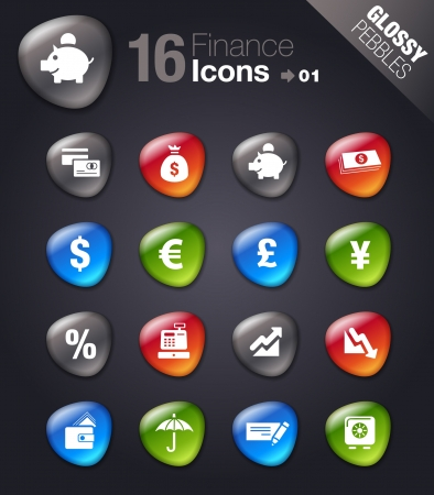 wad: Glossy Pebbles - Finance icons