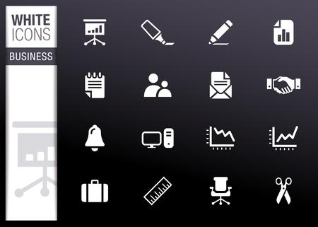 notebook icon: Bianco - icone di Office e Business Vettoriali