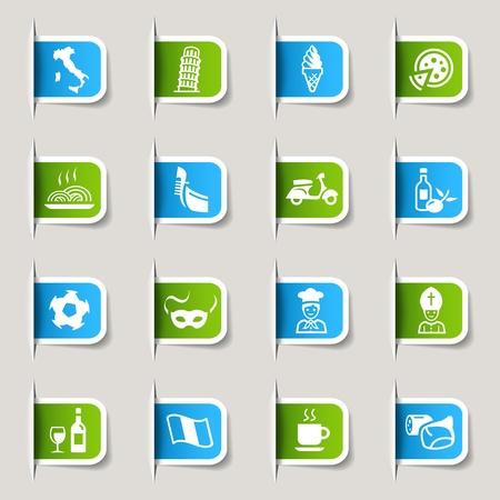 fiambres: Etiquetas - Iconos italianos