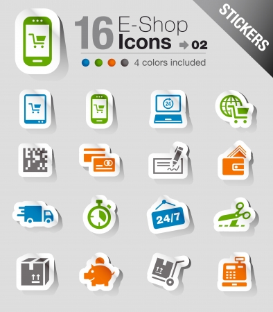 purchase: Stickers - Shopping icons