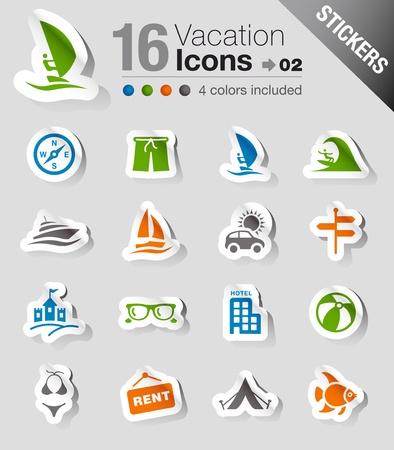sports icon: Etiquetas: iconos de vacaciones