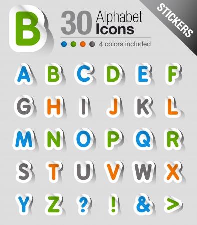 Stickers - Alphabet Imagens - 15504364
