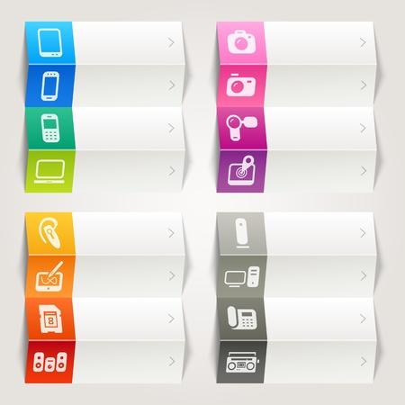 레인보우 - 미디어 탐색 템플릿 아이콘
