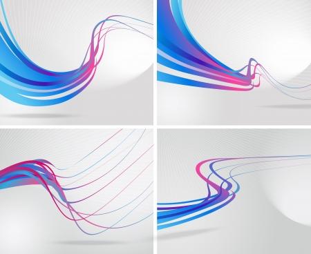Abstract vector Hintergrund Illustration