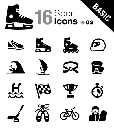 Basic - Sport icons 矢量图像