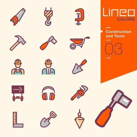 hearing protection: Lineo Colors - Construction and Tools icons