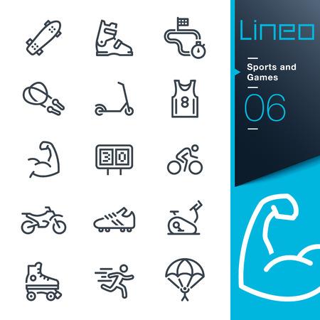 LINEO - 스포츠 게임 라인 아이콘