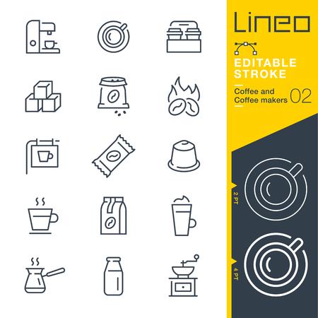 icon vector: Coffee line icon Vector Icons