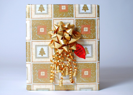 An image of a wrapped present photo