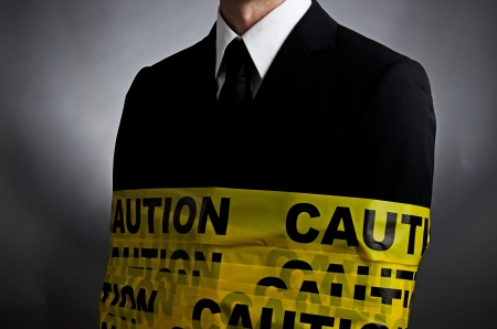 Caution Tie