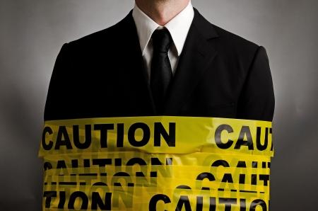 beware: Caution Suit