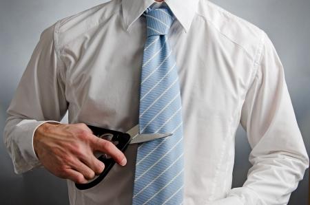 quitting: Cut Ties
