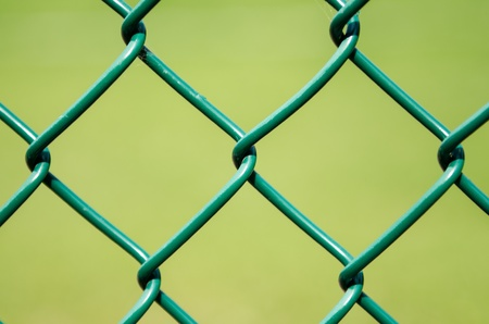 chain link fence: Small Part of a Fence
