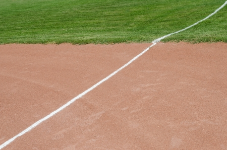 Baseballfeld Standard-Bild - 23091614