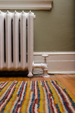 radiador: Calefacción Foto de archivo