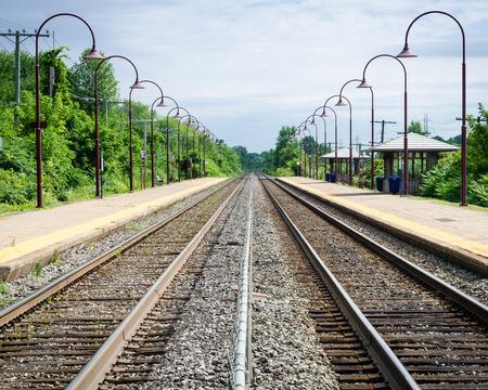 rail route: Train Tracks