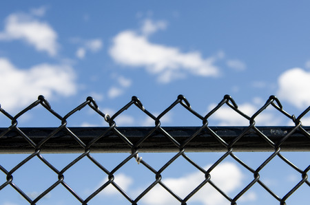 break out of prison: Fence and Blue Sky