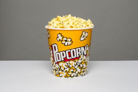 bowls of popcorn: Bucket of popcorn