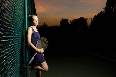 Tennis portrait photo