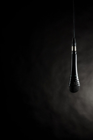 Microphone hanging