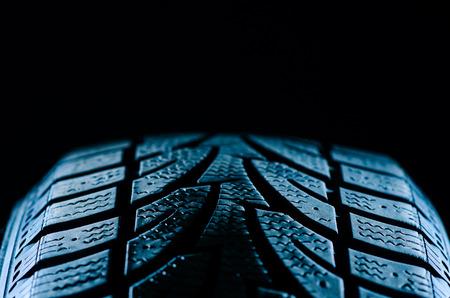 タイヤのトレッド 写真素材