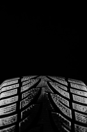 Tire with side lighting