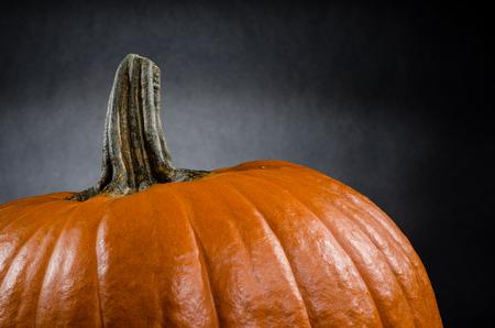 large pumpkin: Pumpkin in a studio
