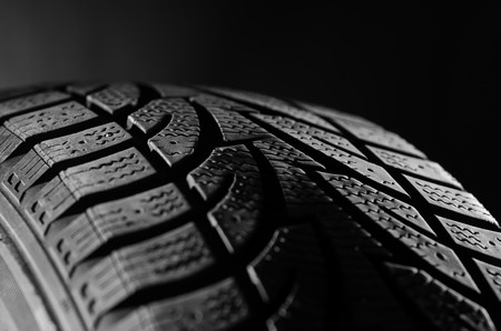 Black Tire Tread
