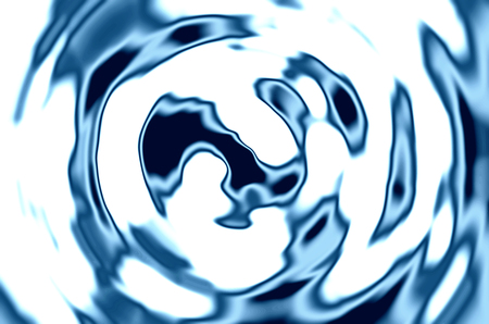 spacetime: Blue liquid abstract