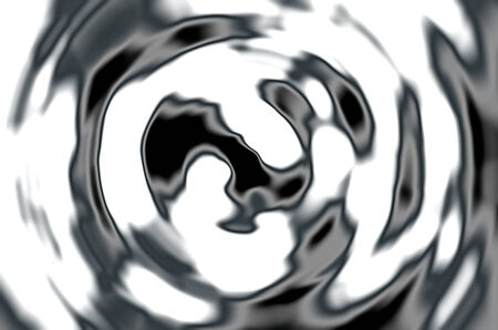 spacetime: Liquid abstract