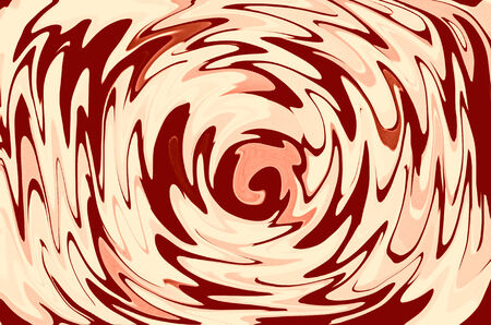 deform: Red abstract swirl