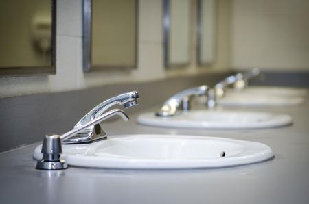 Many sinks