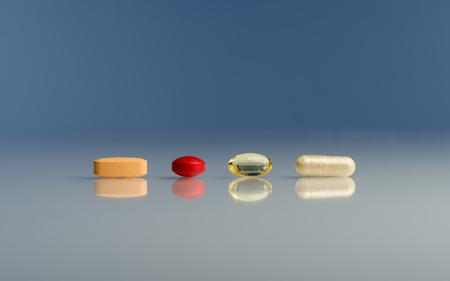 gels: Several pills