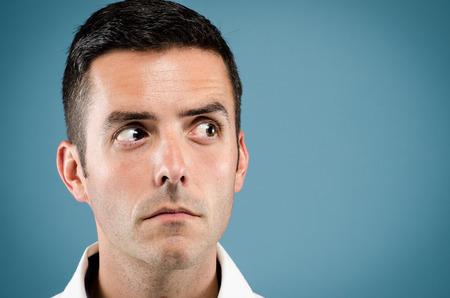 Gesichtsausdruck männlich Standard-Bild - 46940158