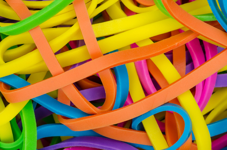 stretchy: Colorful elastics