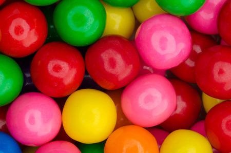 gum: Colorful gumballs Stock Photo
