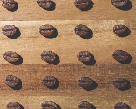 alubias: modelo del grano de café